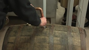The cask will now be matured over 10 years.