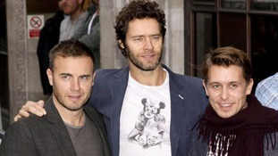 Gary Barlow, Howard Donald and Mark Owen