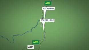 The accident happened in Forest Lane, outside Melksham