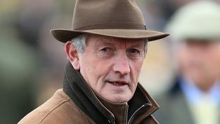 Dessie Hughes pictured at Cheltenham Racecourse last year.