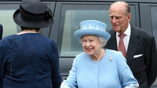 The Queen and Duke of Edinburgh are on a two day visit to Belfast as part of the Diamond Jubilee celebrations.