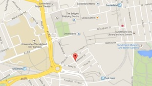 The chunk of ear was found near the scene of a fight in the city centre