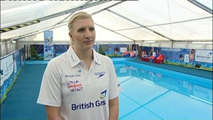 Rebecca Adlington will be hoping to retain her Olympic swimming titles that she won in Beijing