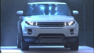 Car maker Jaguar Land Rover has won one the UK's top engineering awards for it's Evoque Range Rover.