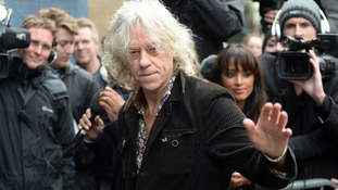 Bob Geldof provided a written statement in defence of his friend Andrew Mitchell MP.