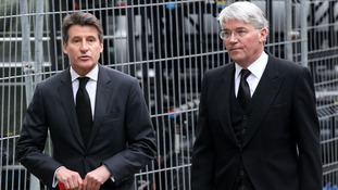 Lord Coe defended Andrew Mitchell over claims he called police officers 'plebs'.