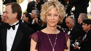 Meg Ryan who starred in When Harry Met Sally, Sleepless In Seattle and You've Got Mail