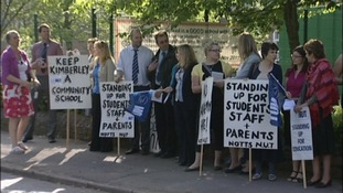 School strike into eighth day