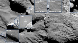 Philae probe finds 'organic molecules' on comet