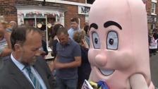 Louth mayor sausage olympics