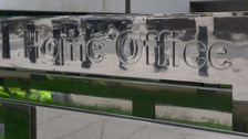 Sign outside the Home Office