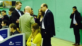 Ukip's Mark Reckless arrives at by-election count