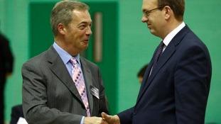 UKIP celebrate in Kent