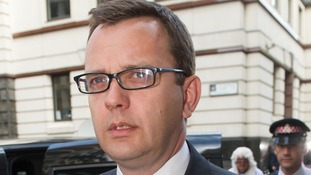 Andy Coulson was found guilty in June of conspiring to intercept phone messages while in charge of the News of the World.