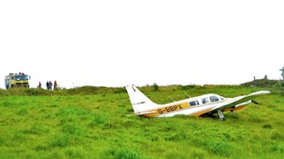 Plane crashes on Isles of Scilly