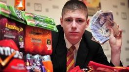 Schoolboy makes £14k selling crisps
