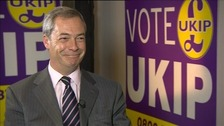 Nigel Farage says the Tories 'tried too hard' in by-election campaign