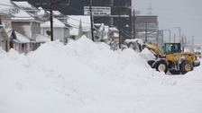 Up to 7ft of snow has fallen in the Buffalo area.