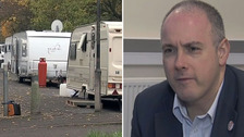 Robert Halfon says he receives regular complaints from Harlow residents about travellers.