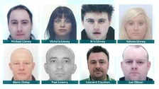 Eight of the ten person gang responsible for illegal tobacco sales in the North East.