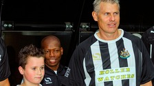 Rob Lee at Steve Harper Testimonial last year.