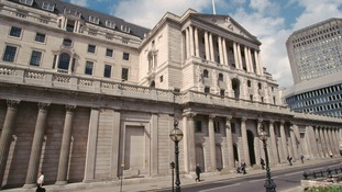 Bank of England exterior.
