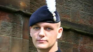 The funeral of Corporal Michael Thacker was held at Coventry Cathedral on Monday.