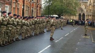 Hundreds of medics attend York thanksgiving service