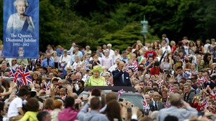 The Queen's visit to Stormont came at the end of a two-day Jubilee visit