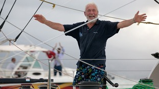 veteran sailor and grandfather-of-five Sir Robin Knox-Johnston