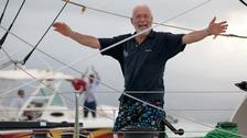 veteran sailor and grandfather-of-five Sir Robin Knox-Johnston