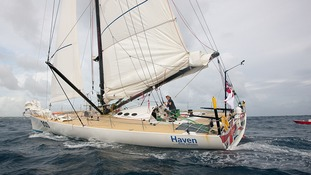 Sir Robin came third in the Rhum class as he crossed the finish line at Pointe a Pitre at 4.52pm local time/8.52pm GMT after 20 days, 7 hours, 52 minutes and 22 seconds at sea