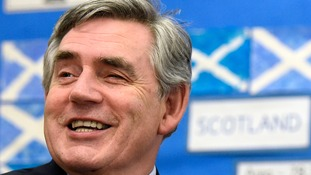 File photo dated 19/09/14 of former Prime Minister Gordon Brown