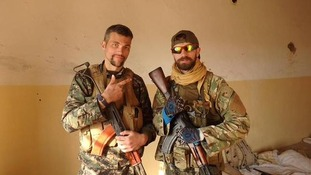 British ex-soldiers join Kurdish fight against Isis militants