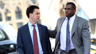 David Lammy (right) with Ed Miliband in 2010.