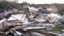 purfleet, thurrock, fly-tipping