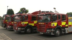 Essex fire engines