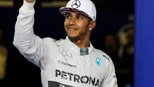 Lewis Hamilton came in first at the Abu Dhabi Grand Prix.