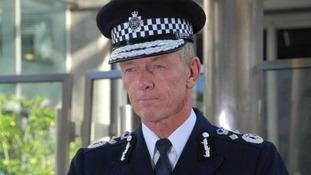 Metropolitan Police Commissioner, Sir Bernard Hogan-Howe