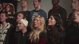 One Directipon, Ellie Goulding, Chris Martin and Ed Sheeran were all involved in Band Aid 30.