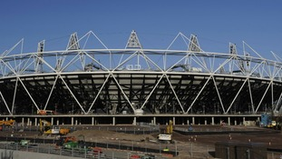 File photo dated 9/12/2011 of The Olympic Stadium.
