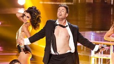 Stevi Ritchie performed various risque routines with scantily clad dancers.
