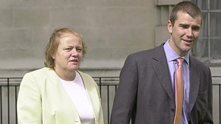 Ivan Massow seen with former Labour minister Mo Mowlam on the day he defected from the Conservatives