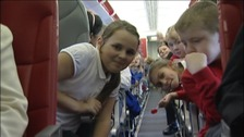local children take to the skies to celebrate Jubilee