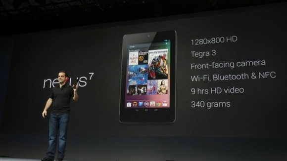 Nexus 7 was unveiled during Google's I/O 2012 Conference.