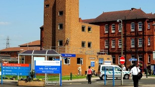 Selly Oak Hospital in 2008