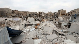 A city in ruins: The destruction of Aleppo is almost complete