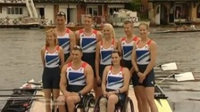 ParalympicGB rowers