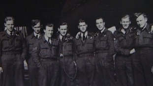Members of the Bomber Command who will be honoured by the Queen tomorrow