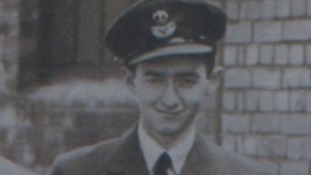 Sam Brookes who was a wireless operator for Bomber Command in the Second World War